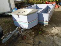 BOX TRAILER 6'6 X 4'9 brand new ply floor
