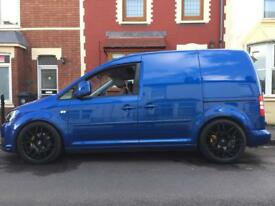 Vw caddy low miles , not vat , no finance