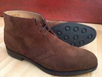 Loake Kempton Chukka Boots Brown Suede. Size 12 UK