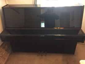 Black Modern Upright Piano, 88 keys, 3 pedals
