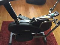 2in1 cross trainer/exercise bike