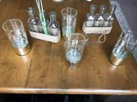 X4 BATTERY STRING LIGHTS AND SHABBY CHIC PROJECT VASE