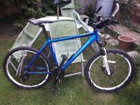 Carrera Vulcan mountain bike in need of tlc