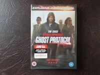 DVD for sale £5.00 - Mission Impossible Ghost Protocol *never been opened / used*