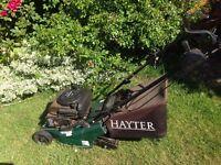 Hayter self drive lawnmower