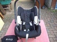 britax baby car seat carrier.