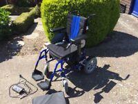 Enigma Energi Dual Control Electric Wheelchair