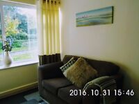 Fresh,modern flat; great area, near Gower beaches! Regular bus service to Swansea city centre