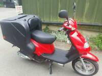 Delivery Bike 125cc TGB professionally built