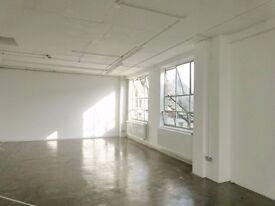 Light Bright Studio/Office - 317A, Netil House, Hackney, Shoreditch, East London E8