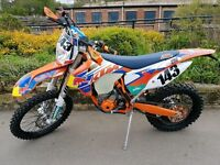 Ktm 250 excf 2015 (immaculate condition) GREAT ENDURO / GREEN LANNING BIKE (NO OFFERS)