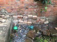 Bricks and broken bricks- free (collection only)