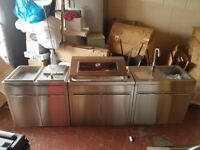 Tucker BBQ luxury outdoor kitchen. Australian import. Ex demo (never used)