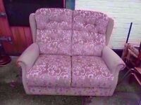 2 seat Fabric Sofa Delivery Available