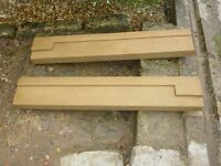 Bath Stone two-piece window sill - 70 inches length  New & Unused