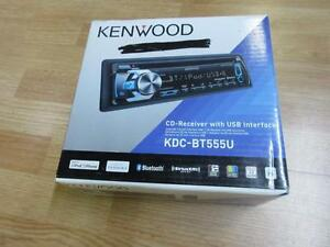 Kenwood KDC-BT555U In-Dash CD/MP3/USB Car Stereo Receiver with Bluetooth