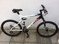 Like new Adults Bike , Full size frame , excellent condition £85 back & front disc