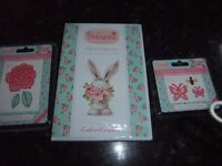 Complete set of dies and cd for Bebunni floal collection