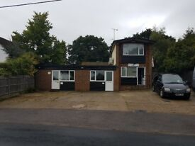 Offices to let fully serviced with air conditioning and parking