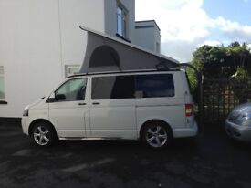 VW T5 campervan converted to high specification, v low mileage, 4 berth, diesel, excellent condition