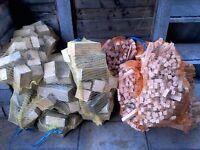 Firewood Blocks and Kindling/Wood Burners/Chimaneas.