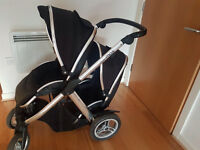 Oyster Max Double buggy & Carrycot