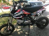 140cc pit bike new very fast