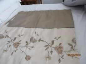 REDUCED PRICE BEAUTIFUL FAUX SILK CURTAINS FOR SALE