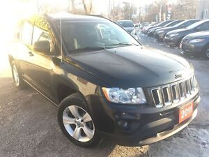 2011 Jeep Compass North Edition/4X4/LOADED/ALLOYS