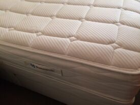 Sealy - Standard Double Bed with mattress - posturepedic