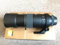 Nikon AF-S 300mm f/4D IF/ED lens.