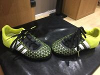 Adidas Ace 15.3, size 12 kids, good condition just out grown