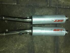 Vf1000r exhaust