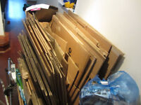 Free moving boxes - used once