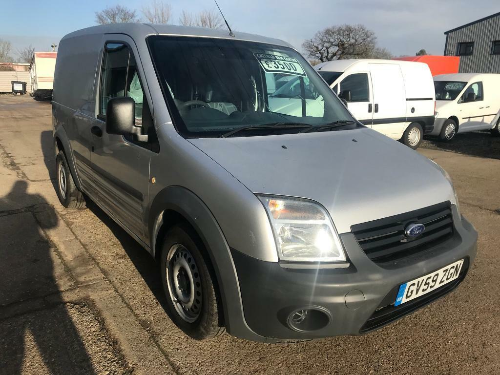 2010 Ford Transit Connect 18 Tdci Silver One Company Owner From New
