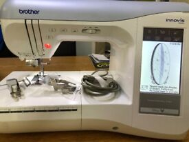 Immaculate Condition Brother Innovis 1500d Embroidery/Sewing Machine