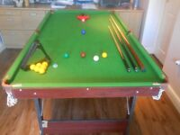 Snooker Table 6' x 3'
