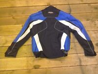 Motorcycle jacket size large