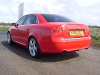 2005 AUDI A4 2.0 QUATTRO S LINE MOT APR 17 £4995 OLDMELDRUM