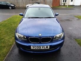 BMW 1 Series Sport, 2009, Diesel, MOT to May, Service Just Carried Out
