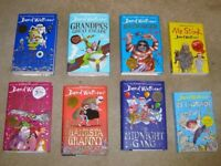 8 David Walliams Books (6 Hardback & 2 Paperback)
