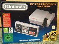 NINTENDO CLASSIC MINI NES - BRAND NEW - WITH 30 NES GAMES