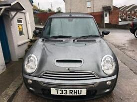 MINI COOPER S CONVERTIBLE STUNNING!! LOW MILES £3595!!'