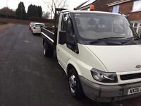 Ford transit tipper 67000 miles