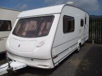 Ace Jubilee 2002 4 berth family caravan