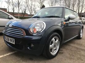 2008 (58 Plate) MINI Hatch 1.6 Cooper 3dr Mini Cooper Full Service History Very Clean Inside Out