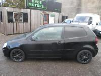 VOLKSWAGEN POLO 1.2 S 64 3dr (black) 2007