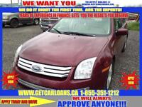 2007 Ford Fusion SEL*LEATHER*SUNROOF*HEATED SEATS*PWR GROUP*KEYL