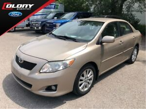 2009 Toyota Corolla ONE OWNER TRADE IN WITH LOW KM'S!