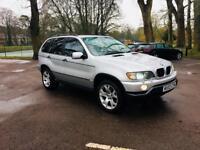 BMW X5/DIESEL AUTOMATIC/2002/FULL HEATED MEMORY SEATS/XNONX LIGHTS/SPORTS OPTIONS/SERVICE/1 YEAR MOT
